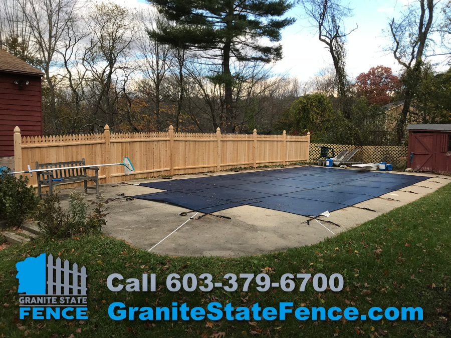 Wood Fencing Picket Fence Pool Fence In Londonderry Nh