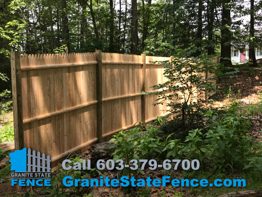Fence Installation Stockade Fence Privacy Fence In
