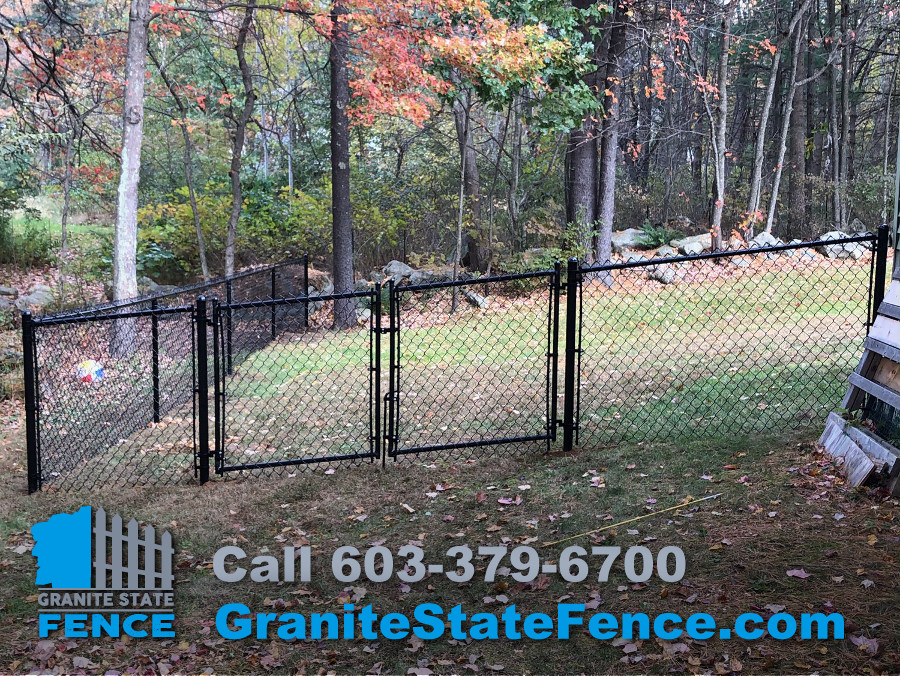 Fence Install Chain Link Fencing In Windham Nh Granite State