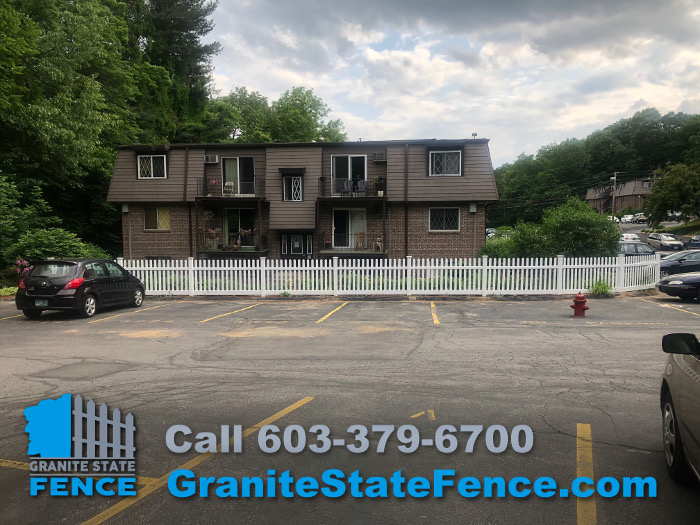 Commercial Fence Contractor Vinyl Fence Installation In