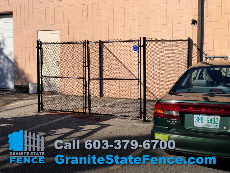 Chain Link Dumpster Enclosure Chain Link Fencing Chain