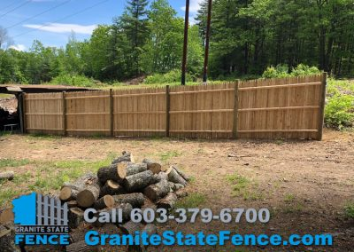 Stockade Fencing Privacy Fence Wood Fence In Hudson Nh