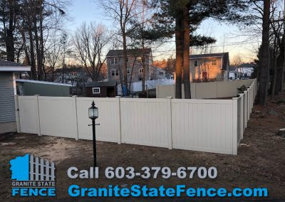 Fence Install Vinyl Fencing Privacy Fence In Nashua