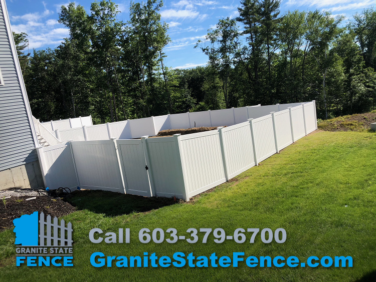 Granite State Fence Fence Installation Londonderry Nh