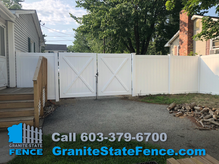 Pool Fence Privacy Fencing Vinyl Fence In Nashua Nh